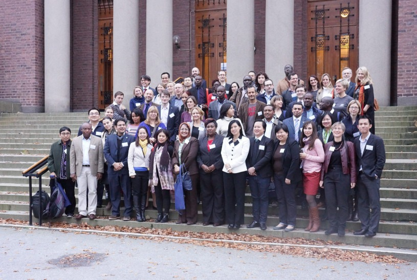 Det andre verdensomspennende møte for unge akademier. Foto: Sveriges Unga Akademi.