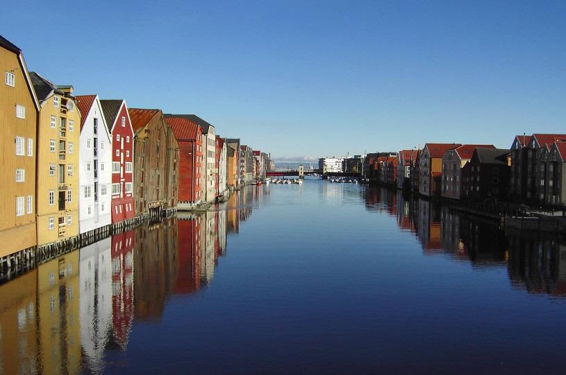 Trondheim. Kilde Wikipedia Commons