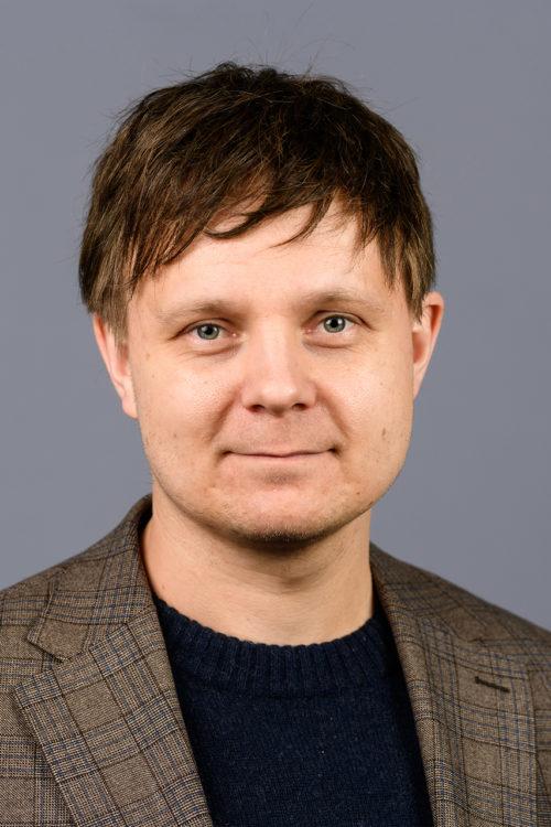Fargeportrett Ole Martin Moen